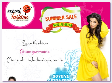Export Fashion Summer Sale