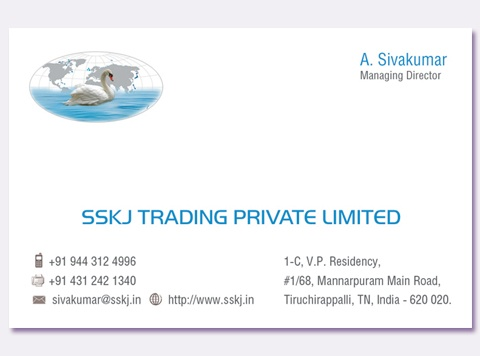 SSKJ Trading Private Limited